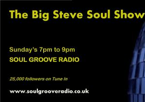 Soul Groove Radio - The Big Steve Soul Show